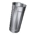 Rura prosta żaroodporna MKSZ Invest MK ŻARY Ø 150mm 0,50mb gr.0,8mm
