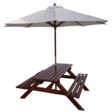 Ławostół – Stół piwny z parasolem