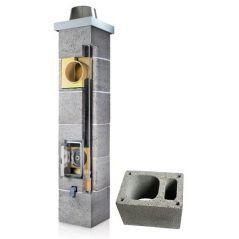 System Kominowy Ceramiczny PLEWA Osmo Fu Ø 200mm z wentylacją