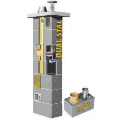 System Kominowy Ceramiczny SCHIEDEL Dual Stal Ø 180 + 80mm
