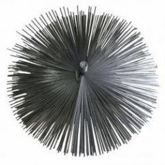 Szczotka kominowa fi 150mm wycior z blaszki