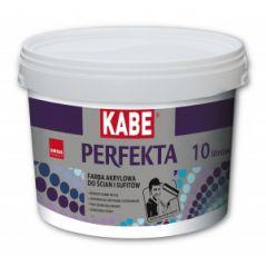 KABE PERFEKTA farba akrylowa do ścian i sufitów, 10 litrów