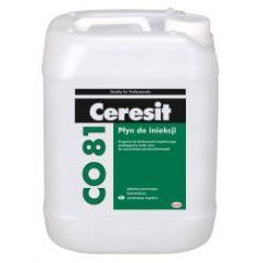 CERESIT CO 81 płyn do iniekcji zawilgoconych murów 30 kg