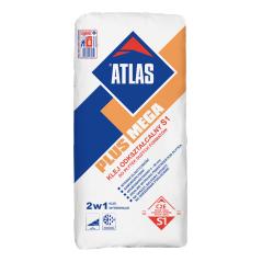 Elastyczny klej do płytek podłogowych dużych formatów ATLAS PLUS MEGA, 25 kg