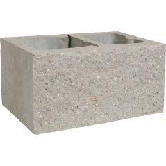 CJBLOK Pustak betonowy elewacyjny PBE-24-1 jednostronnie łupany