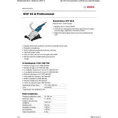 BRUZDOWNICA GNF 65A 2400W 65MM