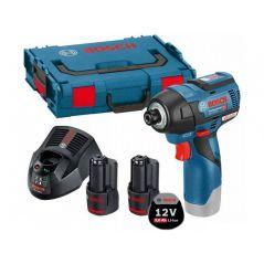 KLUCZ UDAROWY AKUMULATOROWY 1/4'''' GDR 12V-110 2*3,0AH L-BOX