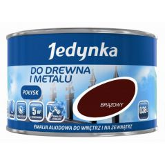 EMALIA ALKIDOWA DO DREWNA I METALU ORZECH JASNY 0,36L