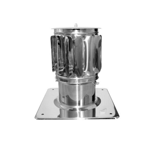 Nasada Turbomax 2 Ø 150mm z podstawą kwadratową