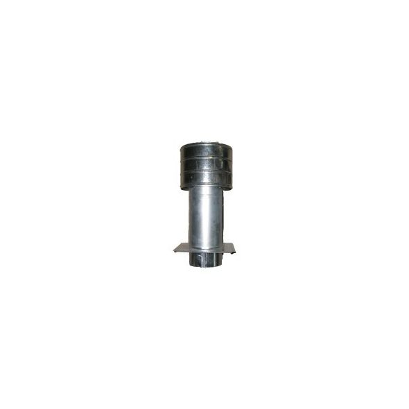 Deflektor ocynkowany z płytą 150mm