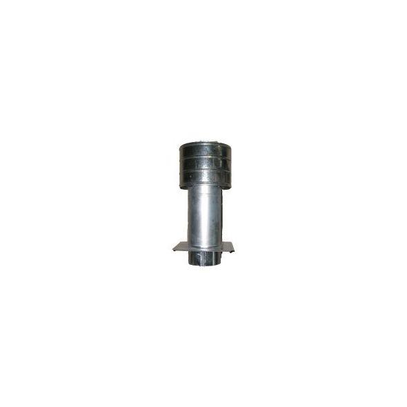Deflektor ocynkowany z płytą 120mm
