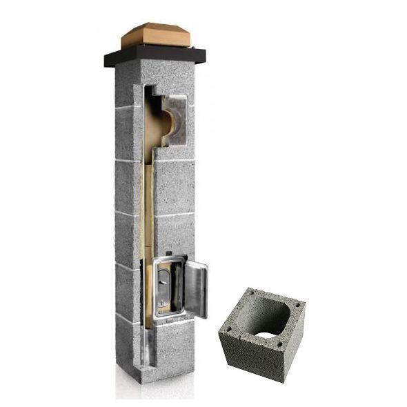 System Kominowy Ceramiczny PLEWA Uni Fe 140x140mm