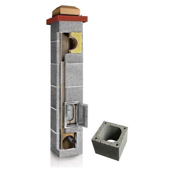 System Kominowy Ceramiczny PLEWA Uni Fu 140x140mm