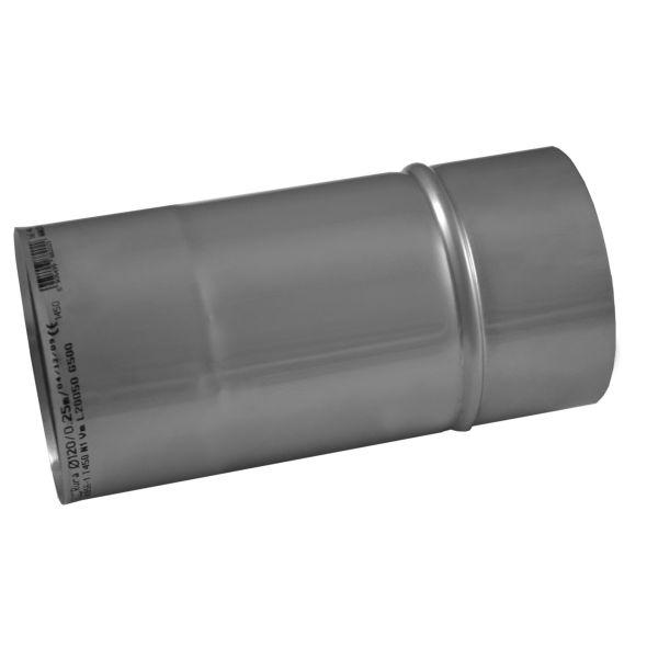 Rura prosta KOMINUS KZS Ø 200mm 0,25mb gr.0,8mm