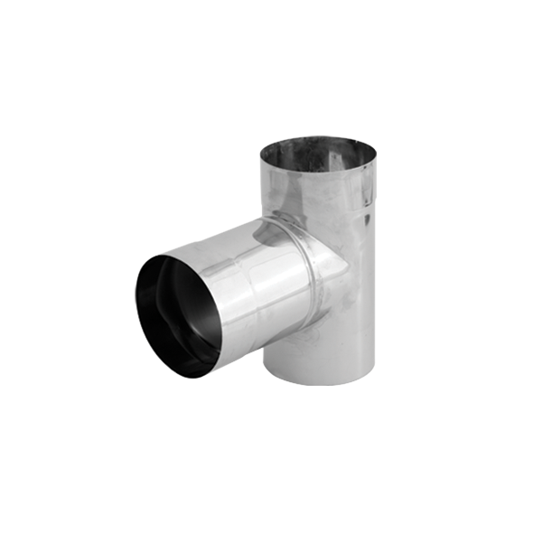 Trójnik 90° kwasoodporny SPIROFLEX Ø 110mm