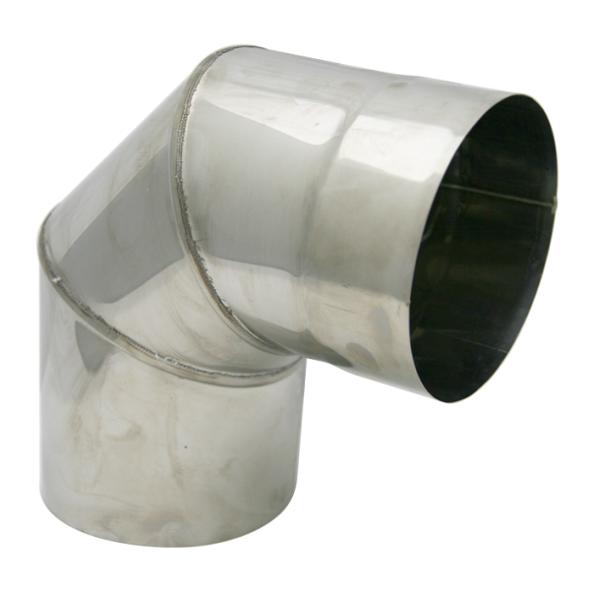 Kolano stałe 90° żaroodporne SPIROFLEX Ø 140mm gr.1,0mm