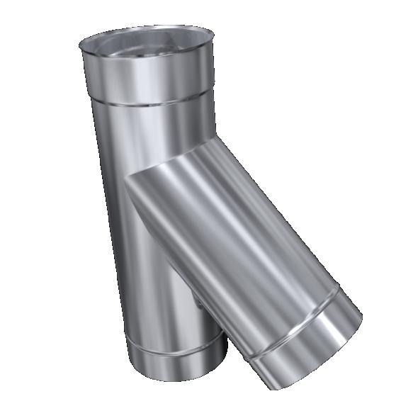Trójnik 45° żaroodporny MKSZ Invest MK ŻARY Ø 150mm gr.0,8mm