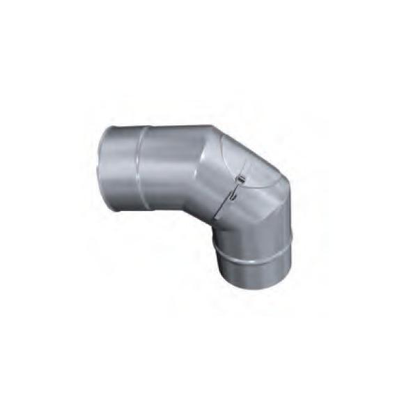 Kolano 90° z rewizją żaroodporne MKSZ Invest MK ŻARY Ø 160mm gr.0,8mm
