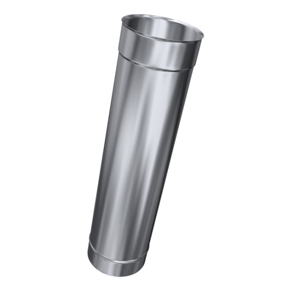 Rura prosta żaroodporna MKSZ Invest MK ŻARY Ø 120mm 1mb gr.0,8mm