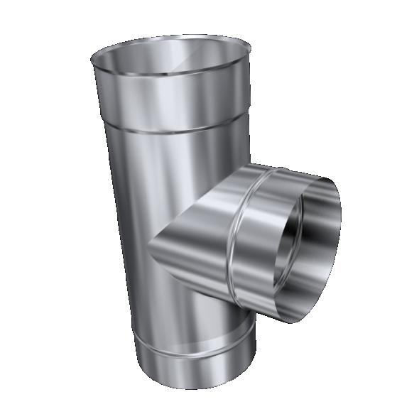 Trójnik 90° żaroodporny MKSZ Invest MK ŻARY Ø 120mm gr.0,8mm